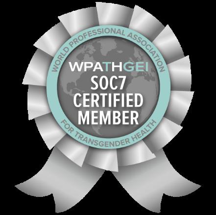 WPATH GEI  | SOC7 Certified Member | Badge